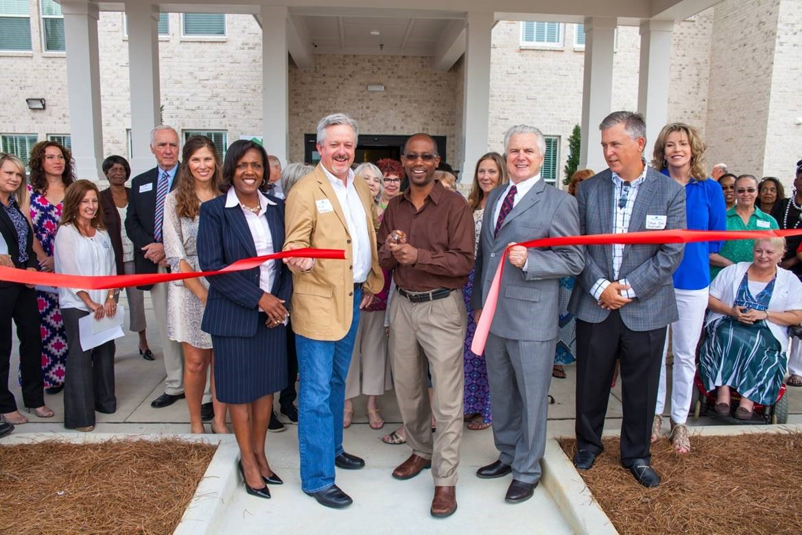 Fairfield Manor Ribbon Cutting